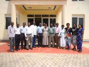 Some of Shyogwe Employees